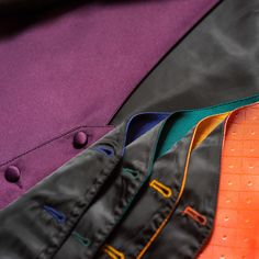 Go the extra step and choose a vest that coordinates with the colors of your #wedding.