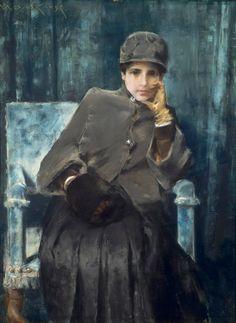 .portrait of Mrs. William Merrit Chase