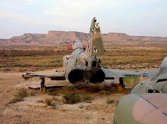El ejército bombardea de nuevo en el corazón de una reserva de la biosfera