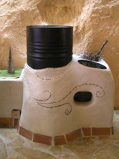 calentadores de masas hermosa cohete (foro estufas de misil en permies)