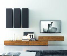 Hier eine Selektion von Designermöbeln, die unserer Meinung nach ihr Geld wert sind! #homify #Sideboard #Wohnzimmer #Holz #Dunkel