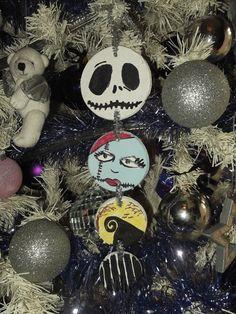 Nightmare before christmas saltdough tree decoration