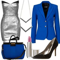 Silver and Blue - StylesYouLove.de