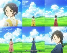 Loved how they showed her full story Anime Ai, Manga Anime, Violet Evergreen, Violet Garden, Violet Evergarden Anime, The Ancient Magus Bride, Kyoto Animation, Some Beautiful Pictures, A Silent Voice