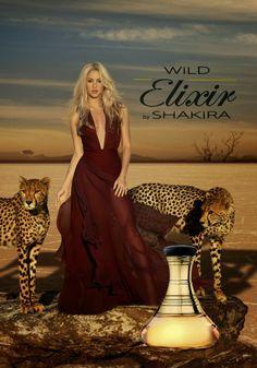 """LAS CADERAS TABASCO: Fotos: Promocionales para """"Wild Elixir by Shakira""""..."""
