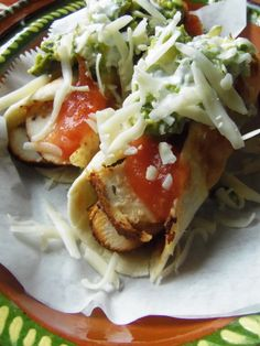 Crunchy Chile Limon Chicken Flautas - Hispanic Kitchen