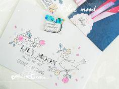 Bird & flowers mail - BohèmeCircus