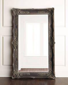 Horchow Antique French Floor Mirror