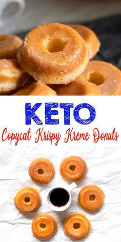 Donuts Keto Donuts Low Carb Keto Glaze Donut Idea Quick Easy Ketogenic Diet Recipe Completely Keto Friendly Easy fast simple gluten free sugar free keto recipe for th. Free Keto Recipes, Donut Recipes, Ketogenic Recipes, Low Carb Recipes, Easy Recipes, Paleo Meals, Budget Recipes, Flour Recipes, Keto Snacks