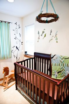 I Love A Bird Nursery Theme And This Birds Branches Themed Room Decorated For Baby Boy Is My Cur Favorite What Find Most Ealing About