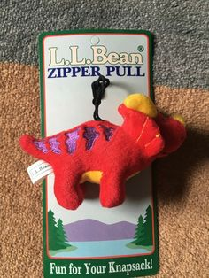4162aadd87 L.L. Bean Childrens Dinosaur Zipper Pull for Jacket or Backpack  fashion   clothing  shoes  accessories  kidsclothingshoesaccs  boysaccessories (ebay  link)