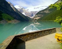 Beautiful Lake Louise River, Spaces, Outdoor Decor, Beautiful, Home Decor, Homemade Home Decor, Rivers, Decoration Home, Interior Decorating