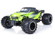 remote control radio control rc 1/5th Giant Scale Exceed RC Hannibal 30cc Gas-Engine Remote Controlled Off-Road RC Monster Truck w/ 2.4Ghz TX 100% RTR & Fail Safe http://www.santasyeararoundtoyshop.com/Remote-Control-Cars.html #monster_remote_control_gas_powered_car #christmas2013toys #rccarforChrsitmas