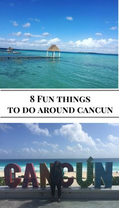 Here are a list of things to do not too far from Cancun away from the crowd of tourists!