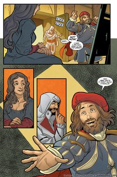 Assassin's Creed – Reflections 001 (2017) | View Comic