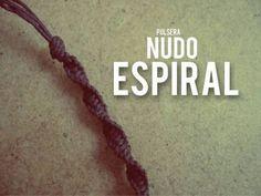 Pulsera Macrame: Espiral