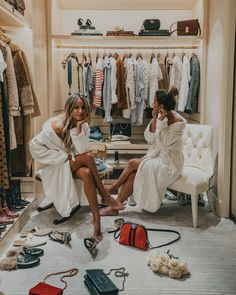 """Sara on Instagram: """"Thank you @fsparis for our dream Walk-in Closet  Can we move here?  @sincerelyjules #collagecloset #sjcollagecloset #fsparis"""""""