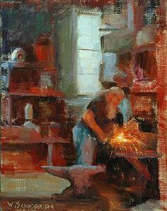 William Schneider ~ Figurative painter   Tutt'Art@   Pittura * Scultura * Poesia * Musica  