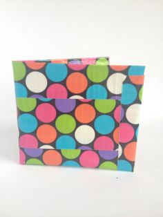 Disco Duct Tape  Wallet