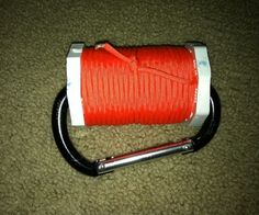 """We've provided you with a handful of ideas for keeping your paracord organized, but this might be one of the best we've come across. Make your own """"Paracord Spool"""" with help from this awesome tutorial!! (via Instructables) http://www.instructables.com/id/Paracord-Spool/ #paracord #spool #instructables #handmade #diy #howto #tutorial #crafting #knotting #tying #survival #prepper"""
