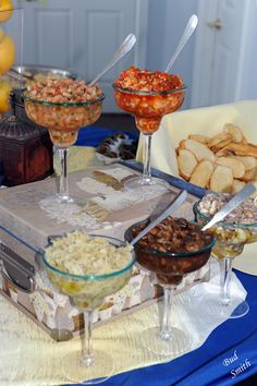 Bruschetta Bar - Tomato Basil, Roasted Red Pepper, Artichoke Parmesan & Portabella Mushroom  Louisville KY Catering, Wedding