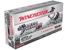 2900518892 Deer Season XP combines decades of Winchester experience into the perfect choice for deer hunting ammunition. Accuracy, combined with massive...