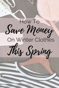 You should be shopping for Fall and Winter clothes now. Here are 5 things to buy for Winter this Spring!