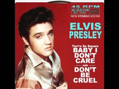 Image result for elvis Baby I Don't Care 1983