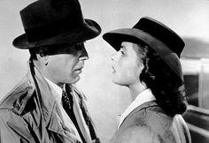 """Casablanca"" Humphrey Bogart and Ingrid Bergman 1942 Warner Bros."