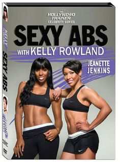 Sexy Abs Workout DVD with Jeanette Jenkins and Kelly Rowland, $19.95