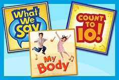 Simple and fun songs are a fantastic way for young children to learn new things! We have 3 new songs for our youngest learners that teach important lessons, such as polite phrases/greetings, parts of the body, and counting from 1 to 10.