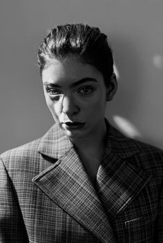 Lorde by Jack Davison for The New York Times Magazine.
