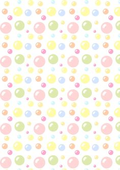 Free digital bubbles scrapbooking paper - ausdruckbares Geschenkpapier - freebie | MeinLilaPark – DIY printables and downloads