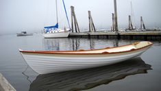 Penobscot Wherry Rowing Boat By Dale Cottrell