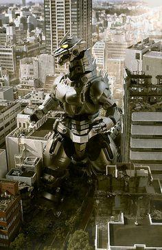 Kiryu : Mecha Godzilla III.