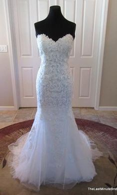 Maggie Sottero Annette 4MB984: buy this dress for a fraction of the salon price on PreOwnedWeddingDresses.com