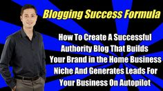 On this webinar you'll learn the exact blueprint to follow to create an authority blog from scratch that will brand YOU in the home based business niche and how to get a done-for-you blog for FREE.