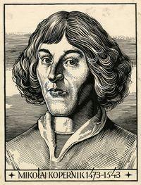 Portret Mikołaja Kopernika - Kuczyński, Edward (1905-1958)