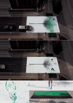 Green Pedestrian Crossing created by Jody Xiong