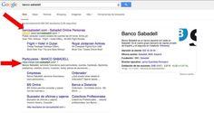 No te fíes siempre del primer resultado de tu banco en Google - Contenido seleccionado con la ayuda de http://r4s.to/r4s