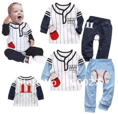 AliExpress kids wear baseball online shopping site,the world largest kids wear baseball retail shopping guide platform,offers kids wear baseball buying guide online wholesale price promotions and the real user comments. Baby Boy Outfits, Sport Outfits, Kids Outfits, Baby Boy Baseball, Baseball Clothes, Sport Fashion, Kids Fashion, Autumn Clothes, Casual Suit