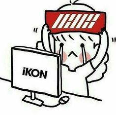 #Jinhwan #Junhoe #Hanbin #Bobby #Donghyuk #Yunhyeong #Chanwoo #BI #Jiwon #June #iKON #iKONIC #KONBAT ❤ K Pop, Nct, Ikon Wallpaper, Funny Boy, Hanbin, Bigbang, Memes, Fan Art, Mood
