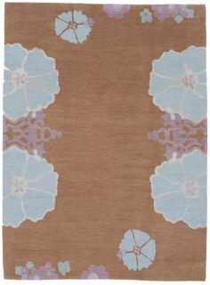 Tibetan rug from The Rug Company.