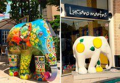 Elefantes exclusivos da Elephant Parade Floripa chegam a São Paulo