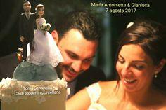 #scultura #caketopper #personalizzato in #porcellanafredda by #toniasarcinella #taranto #italia #cake #topper #porcellanafredda #pastadimais #caricatura #eventi #festa #party #evento #matrimonio #matrioniopuglia #abito #abitosposa toniasarci@libero.it