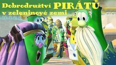 🥒 Dobrodružství pirátů v zeleninové zemi (2002) - pohádka Disney Characters, Fictional Characters, Lunch Box, Dogs, Pet Dogs, Doggies, Fantasy Characters, Dog