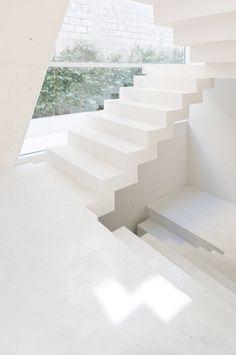 """♂ Staircase """"Medici"""" White"""