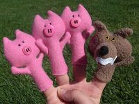 Finger Puppet Tutorials on Obsessively Stitching