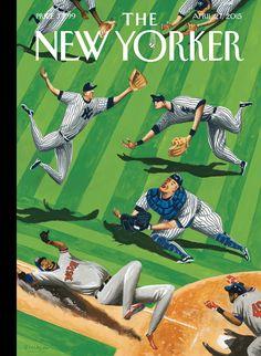 Illustrator Mark Ulriksen's sport-themed covers for The New Yorker