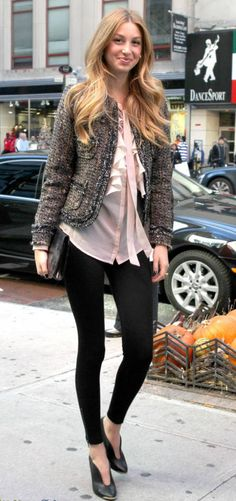 The always fashionable Whitney Port :)